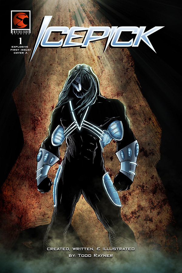Icepick issue 1 cover